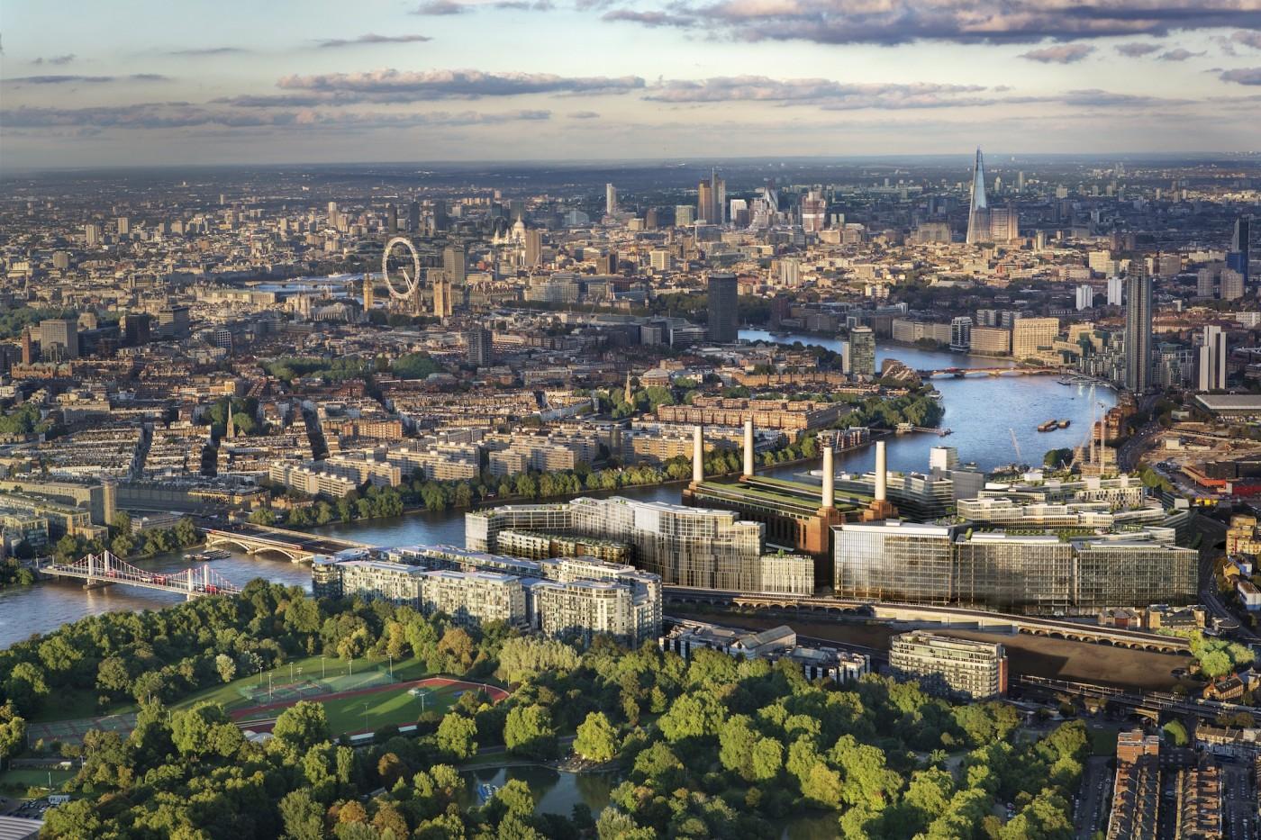 London, Battersea Sky View