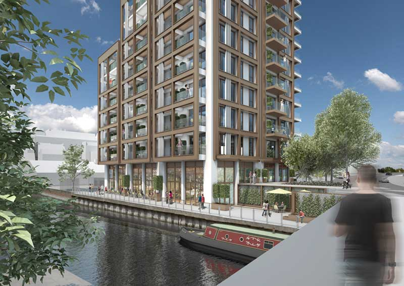 Launch of Luxury Waterside Apartments in UK